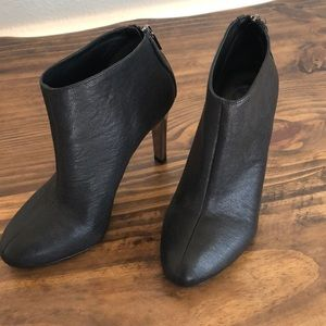 Tory Burch Corbet Black Leather Booties